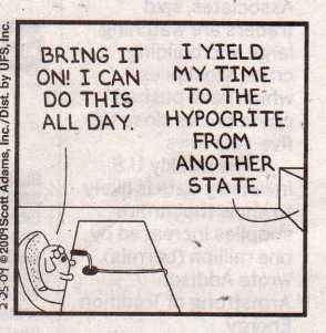 Dilbert Bailout Hearings