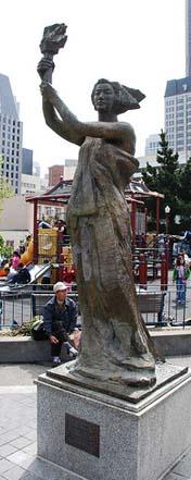 Goddess Democracy Statue - Steve Rhodes