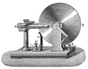 """""""Faraday disk generator"""" by Émile Alglave"""