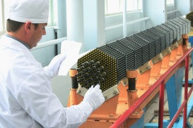 """Nuclear power reactor fuel assembly"". Nuclear power reactor fuel assembly at the Novosibirsk Chemical Concentrate Works"